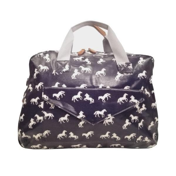 Horse Travel Bag Navy