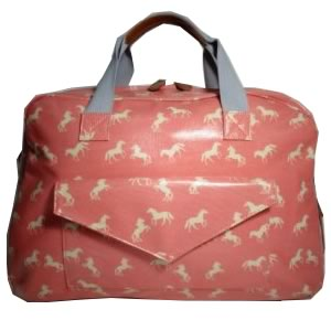 Horse Travel Bag Pink