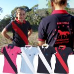 Personalised Horse Stripe Polo
