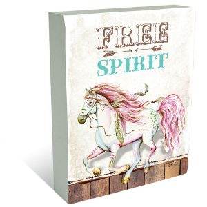 free spirit pony block