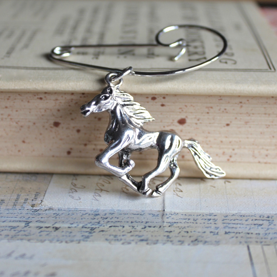 Horse Brooches