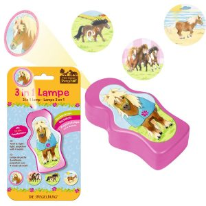 3 in 1 pony lamp