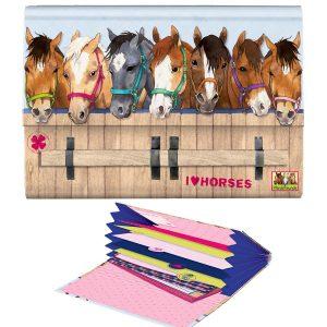 Horse Friends Writing Set