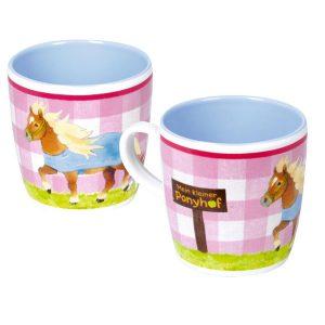 Pony Melamine Cup