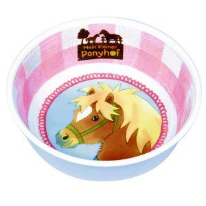 Pony melamine bowl