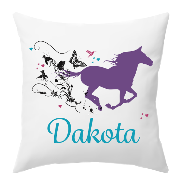 personalised Horse Cushion