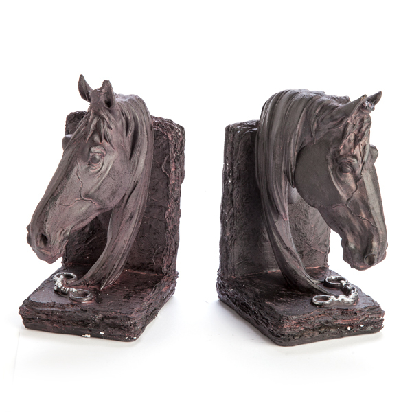 Horse Head Bookends