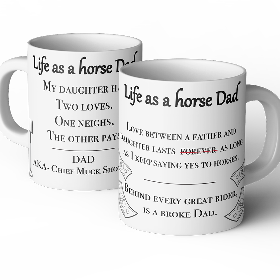 life as a horse dad