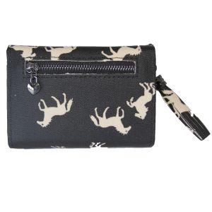 folding horse wallet back