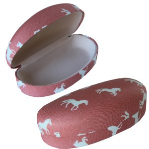horse sunglasses case
