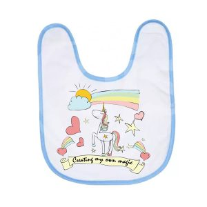 Unicorn_baby _bib_pinkjpg