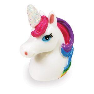 unicorn head lip glos