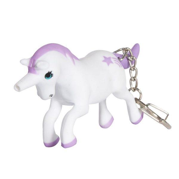 Unicorn Light Up Keyring
