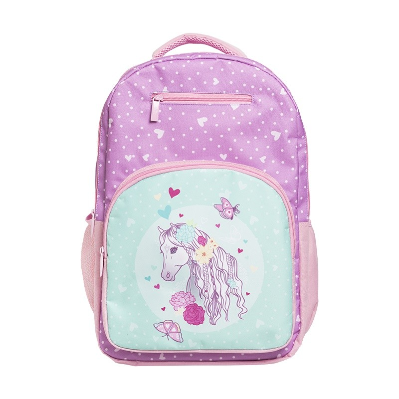 76e66248deb Peony Pony Triple Backpack - Filly and Co Horse Gifts