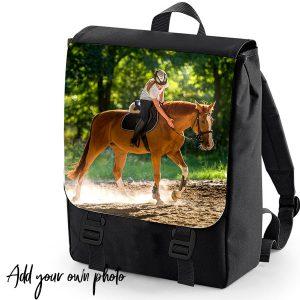 add you photo backpack