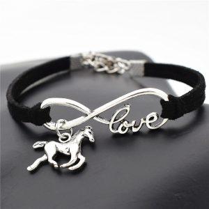 i love horses bracelet