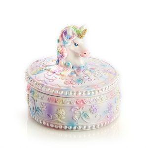 unicorn trinket box