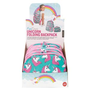 Foldable Unicorn backpack