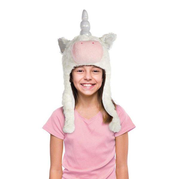 soft unicorn hat
