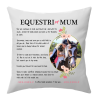 equestri-mum cushion mothers day gift