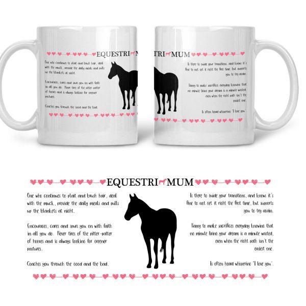 mothers day horse mug