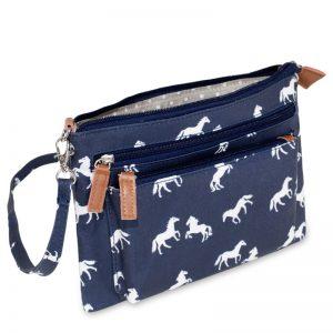 multi pocket handbag