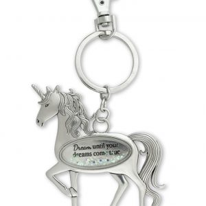 unicorn dream keyring