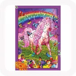 3D pony dazzle jigsaw puzzle