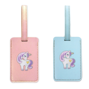 sweet unicorn bag tag