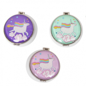round unicorn pin box