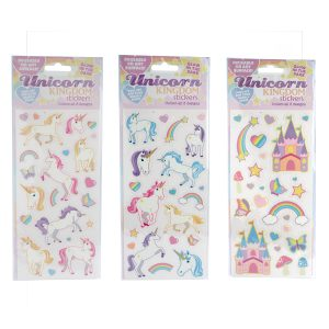 Glow in the Dark Unicorn Kingdom Stickers