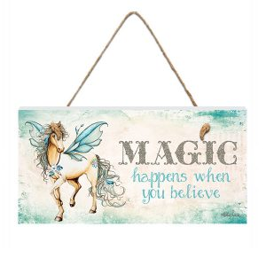 Pegasus Magic Hanging Plaque