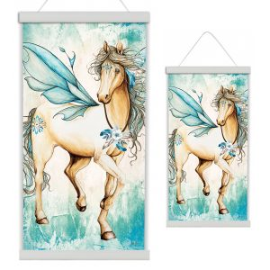 The Pegasus Canvas Scroll