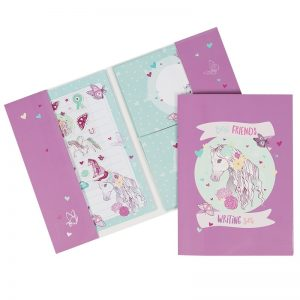 peony pony writing set