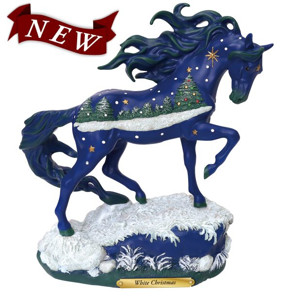 Trail of Painted Ponies White Christmas