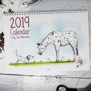 Emily Cole 2019 horse calender