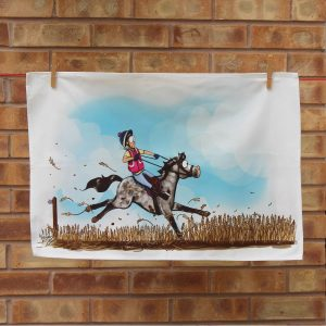 Farmers Field Tea Towel