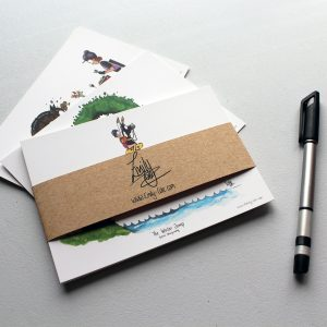 cross country horse postcards
