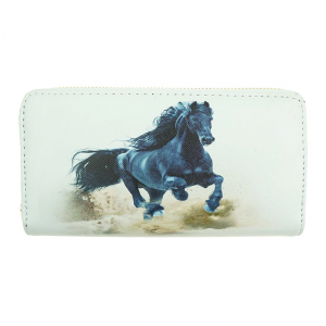 galloping horse wallet