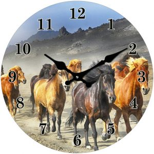 brumbies horse clock