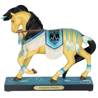 Trail of Painted Ponies Turquoise Princess