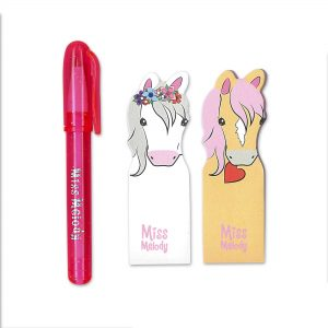 Miss Melody Mini Sticky Pads and Pen