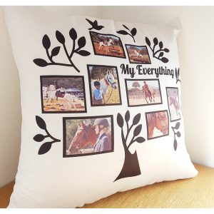 my everything photo cushion