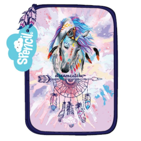 Dreamcatcher Horse Hard Pencil Case