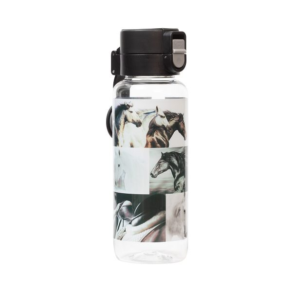 B&W Horse Water Bottle